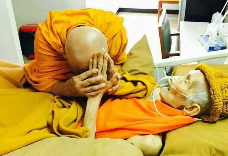หลวงพ่อรวย ปาสาทิโก พระเกจิดังแห่งวัดตะโก สิริอายุ 95 ปี