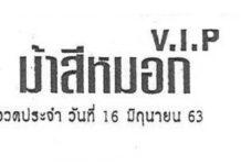 จัดไป! แนวทางหวยรัฐบาล หวยม้าสีหมอก หวยซองเลขเด็ด งวด16/6/63